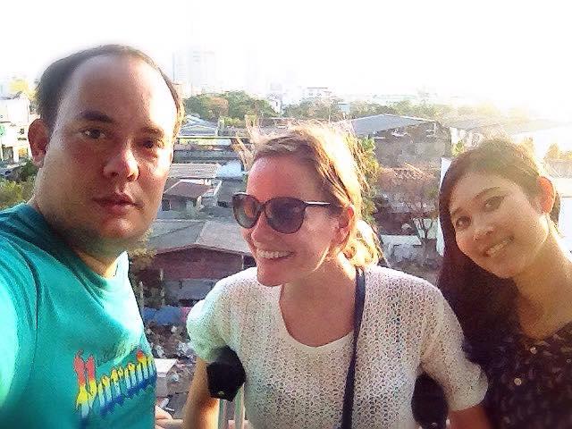 vrienden in Bangkok