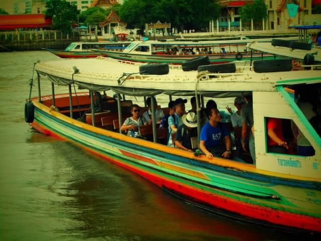 Bangkok boot taxi