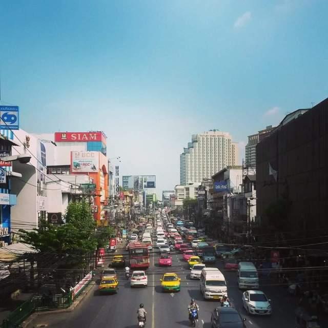 verkeer in Bangkok, Rachawhithi straat