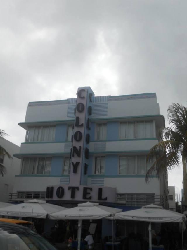 The Colony Hotel Miami Beach, Florida, Verenigde Staten, art deco