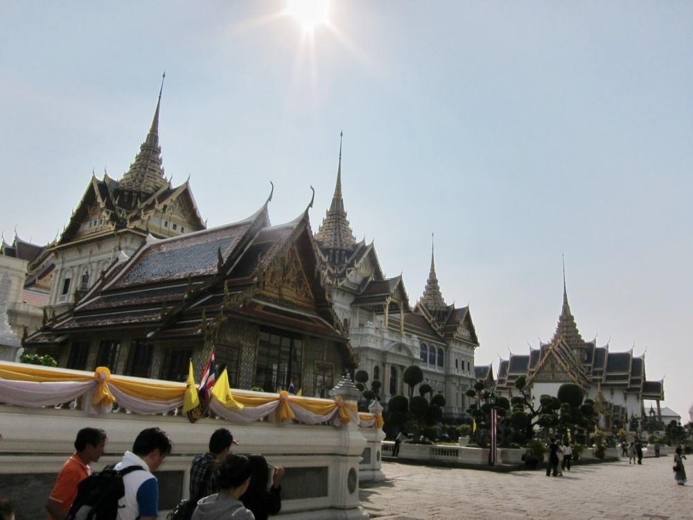 Grand palace Bangkok oplichterij