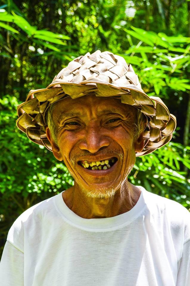 Rijstboer in Bali, Indonesië, Zuid Oost-Azië