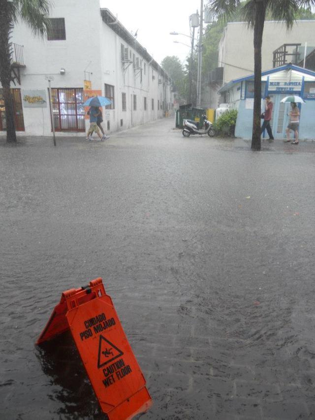 Humor in Key West, overstroming, Florida, Verenigde Straten