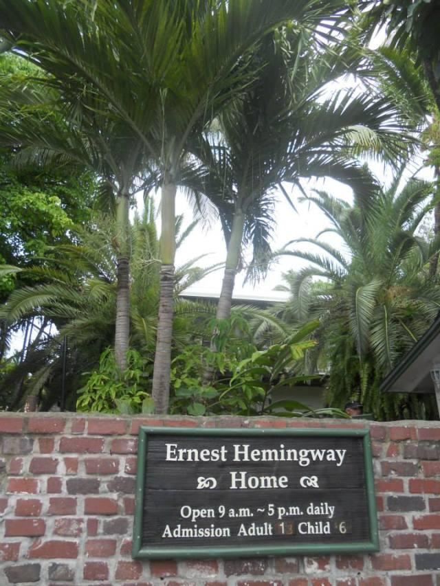 Ernest Hemingway huis Key West Florida Verenigde Staten