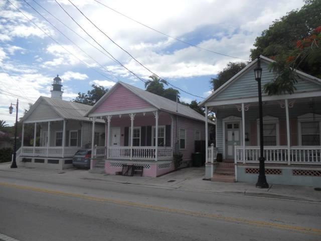 Huizen in Key West, Florida, Verenigde Staten