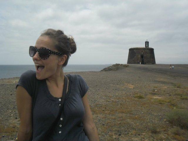 Castillo de las Colorades, Playa Blanca, Lanzarote, Canarische eilanden, Spanje