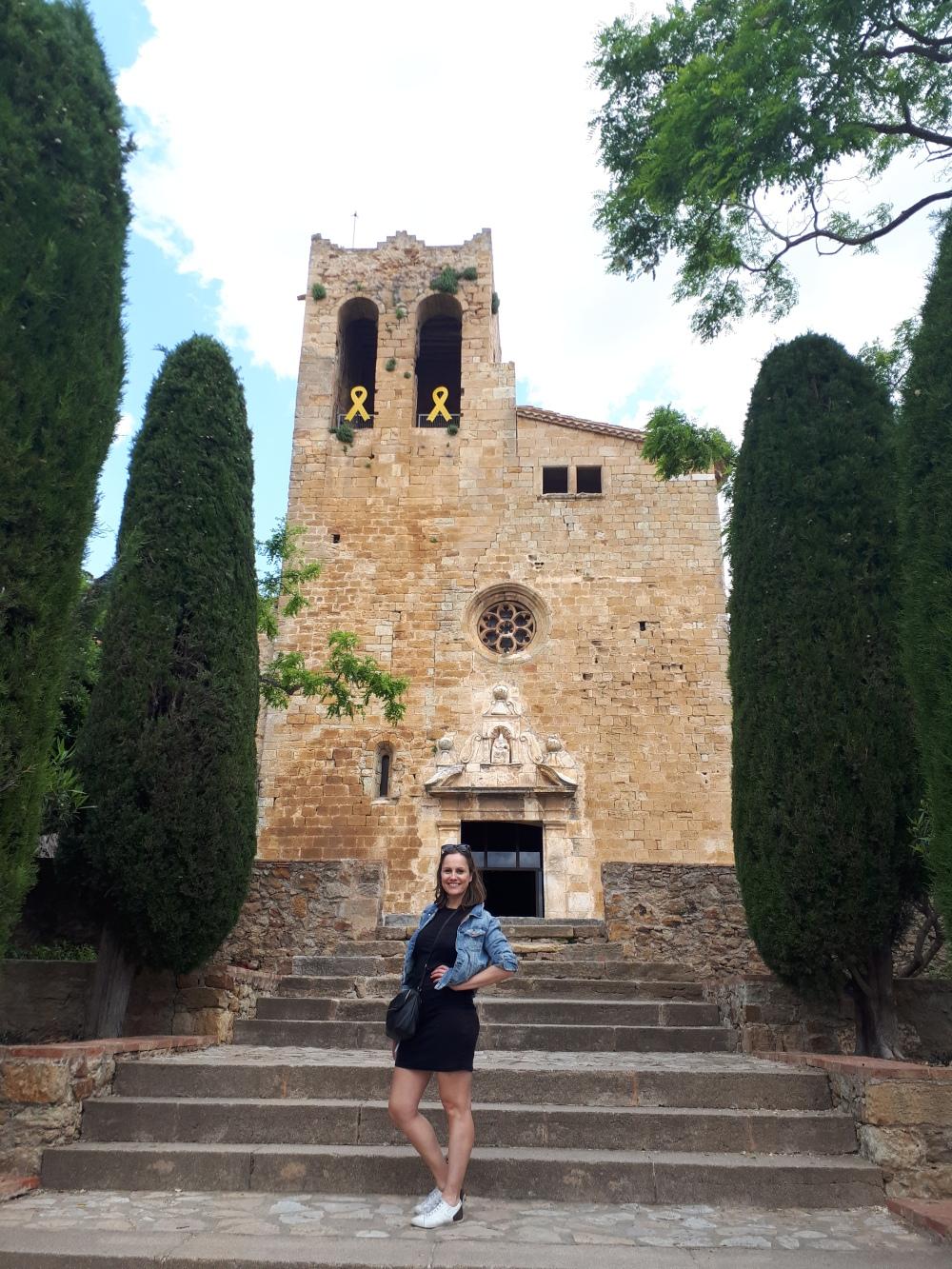 San Pedro kerk, Pals, Costa Brava, Spanje