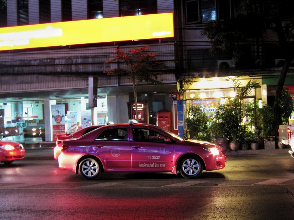 Taxi meter oplichting in Bangkok