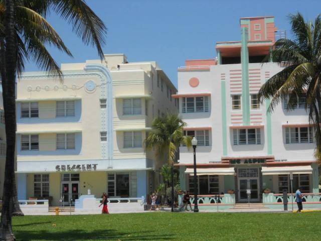 Art Deco Center Miami Beach, Florida, Verenigde Staten
