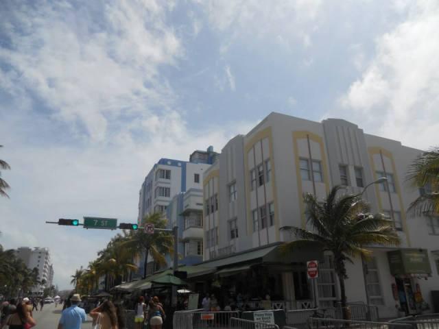 Ocean Drive, Miami Beach, Florida, Verenigde Staten
