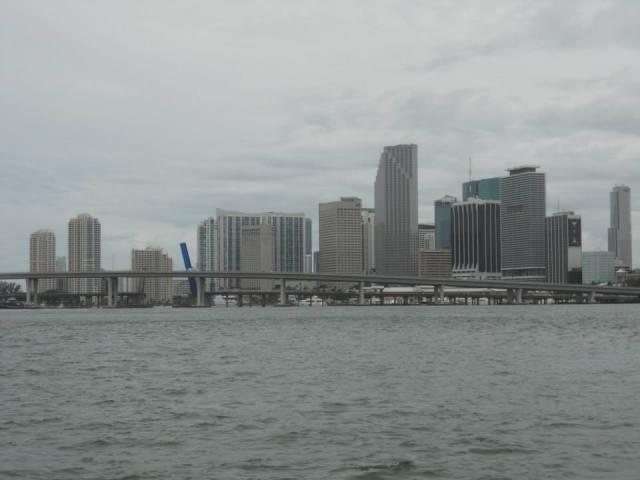 Boottocht Miami met skyline, Miami, Florida, Verenigde Staten