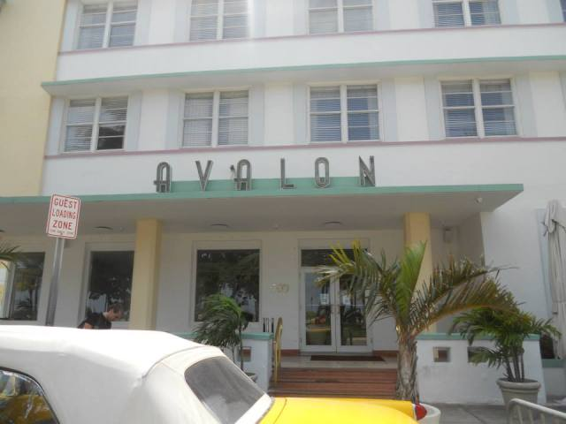 Avalon Hotel Art Deco Center, Miami Beach, Florida, Verenigde Staten