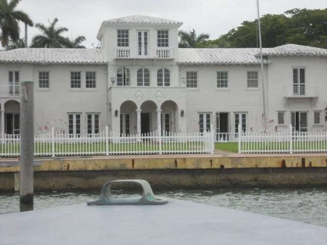 Tony Montana, Scarface, huis in Miami, Florida, Verenigde Staten