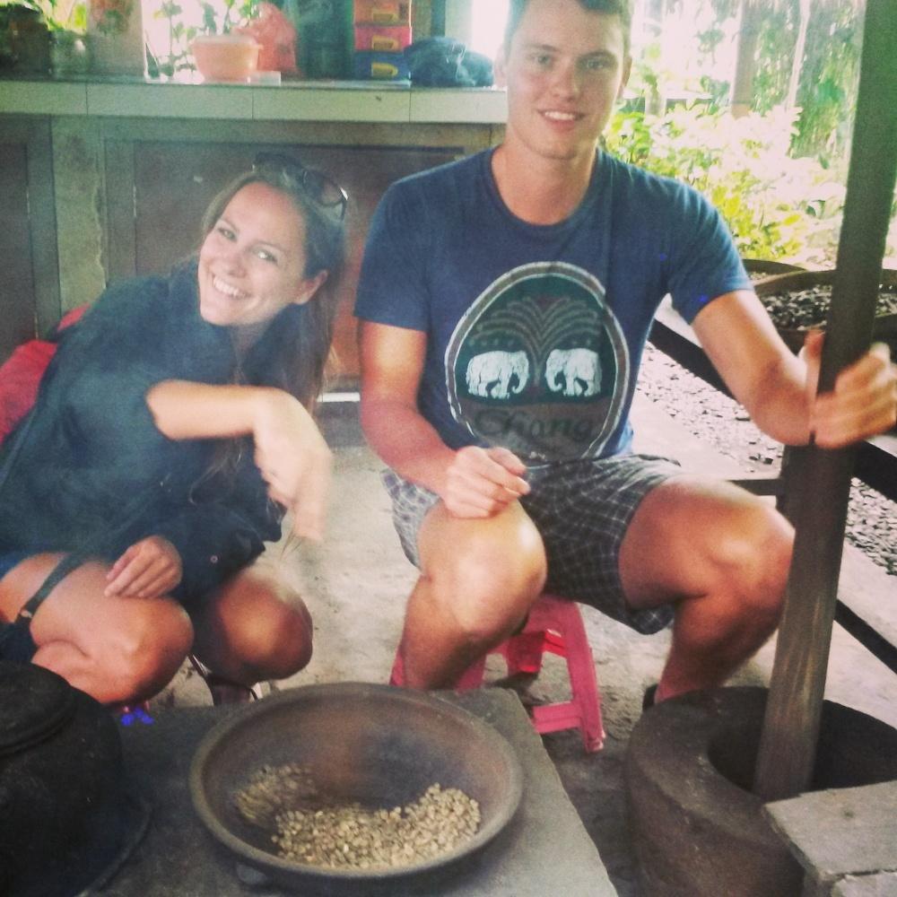 koffiebonen luwak koffie Bali Indonesië Zuid Oost-Azië