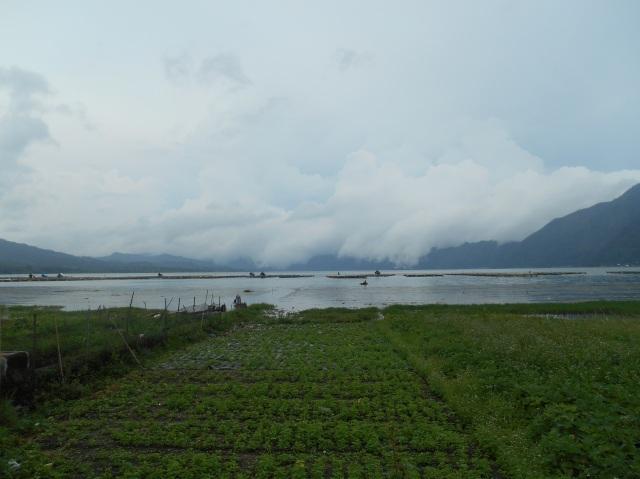 Batur meer kintamani, Bali, Indonesië, Zuid Oost-Azië