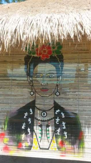 Ode aan Frida Kahlo in The Mexican Kitchen op Gili Air