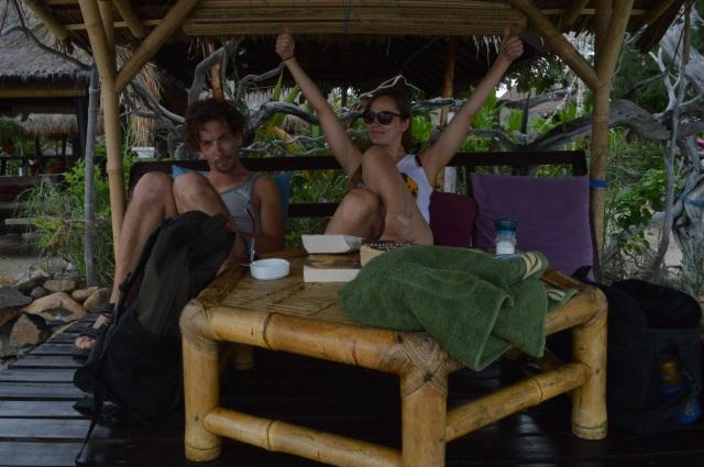 Anna Warung, Gili Meno, Gili eilanden, paradijs, Lombok, Indonesië, Zuid Oost-Azië