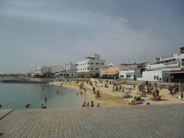 Corralejo, Fuerteventura, ferry harbour