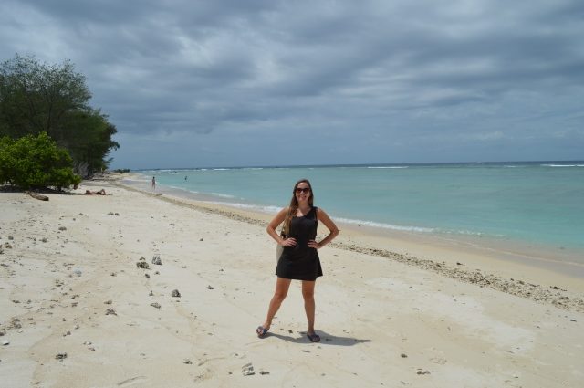 Gili Meno strand, gili eilanden, lombok, Indonesië, Zuid Oost-Azië