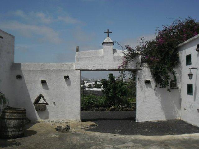 Helemaal terug naar de plattelandsgeschiedenis van Lanzarote in het Musea agricola el Patio, Lanzarote, Canarische eilanden, Spanje