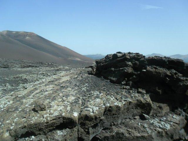 Timanfaya nationaal park Lanzarote Canarische eilanden Spanje