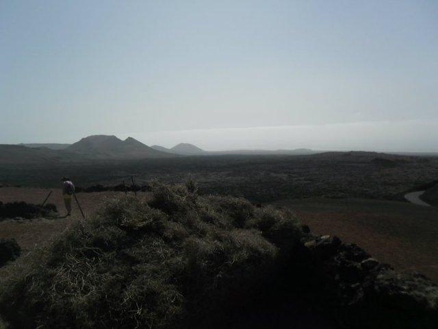 Timanfaya nationaal park vulkanan Lanzarote Canarische eilanden Spanje