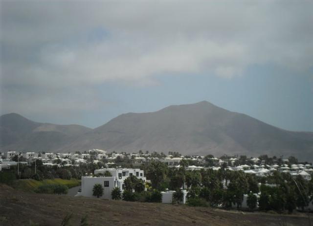 Lanzarote uitzicht vulkanen Canarische eilanden reizen Spanje