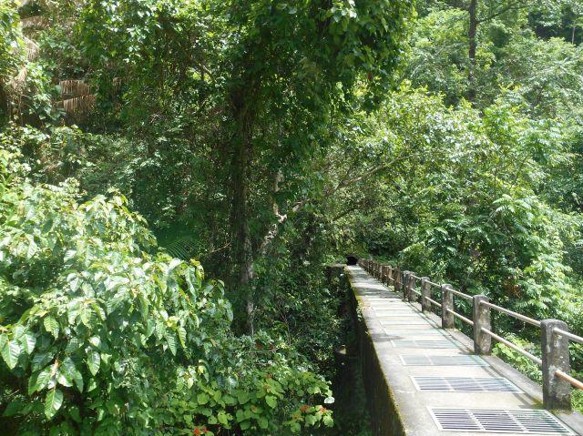 Onderweg naar de watervallen van Senaru, Lombok, Indonesië, Zuid Oost-Azië