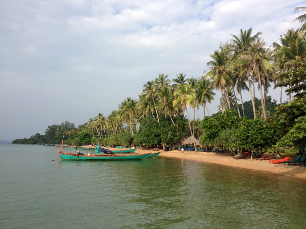 Rabbit Island, Koh Tonsay, Kep, Cambodja, Zuid Oost-Azië